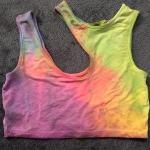 LF tie dye top